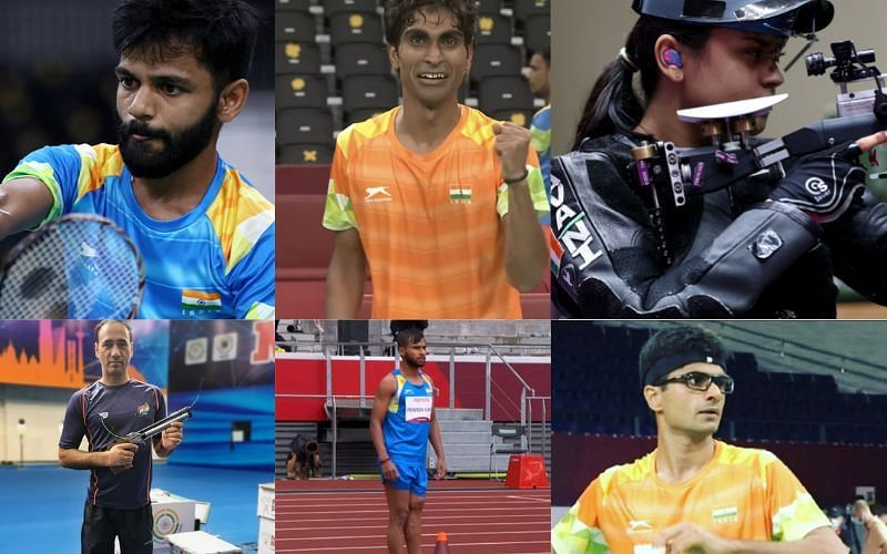 Indian medal winners at the Paralympics