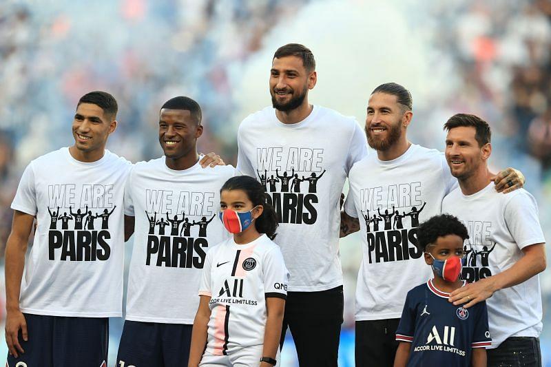 Paris Saint Germain play Club Brugge on Wednesday
