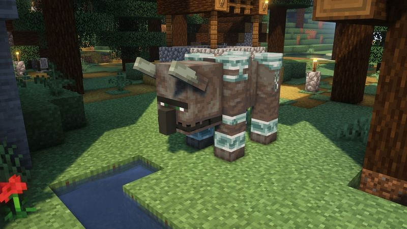 Tips for easily taking down ravagers in Minecraft (Image via Minecraft)