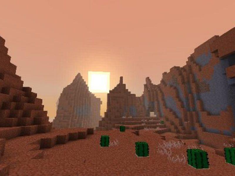Dengan begitu banyak bioma Minecraft, tidak ada salahnya menggunakan alat komunitas untuk menemukannya dalam benih (Gambar melalui Mojang).