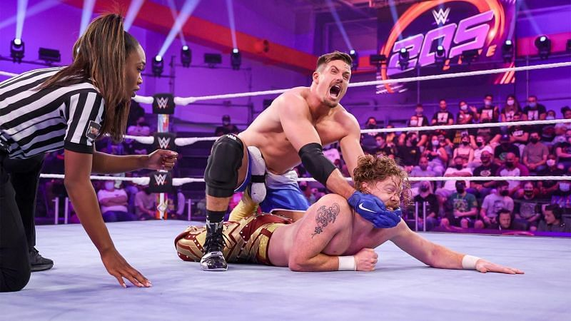 205 Live featured a solid main event between Grayson Waller and Trey Baxter