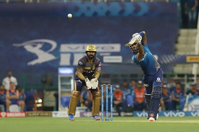 सूर्यकुमार यादव बल्लेबाजी के दौरान (Photo Credit - IPLT20)