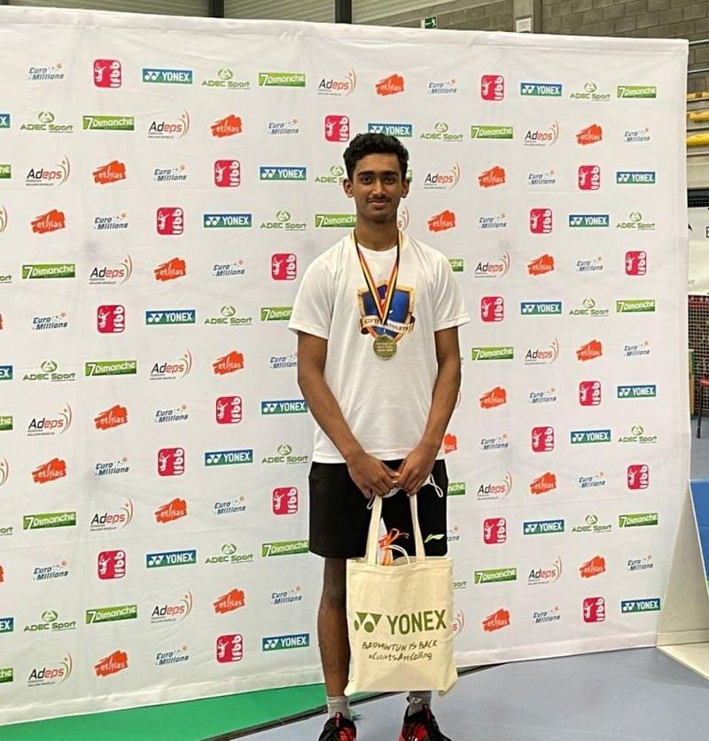 18-year-old Naren Shankar Iyer won the junior title on international debut