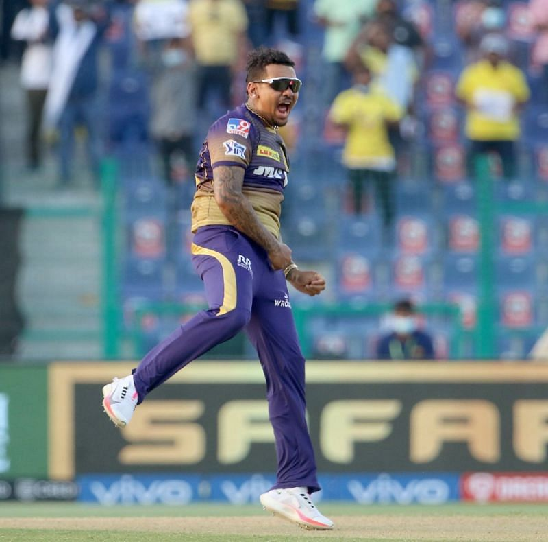 Sunil Narine produced an all-round show against RCB (Credit: BCCI/IPL)