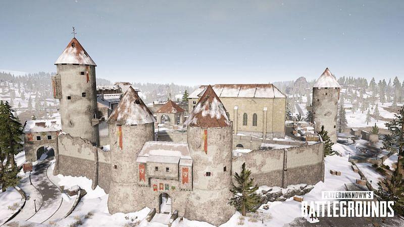 Castle in BGMI (Image via Krafton)