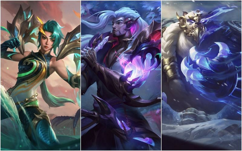 The new Dragonmancer skins are phenomenal (Image via League of Legends)