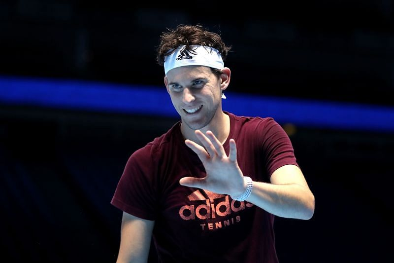 Dominic Thiem ahead of the 2019 Nitto ATP Finals