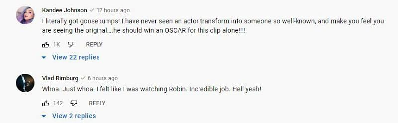 YouTube Comments (1/4)