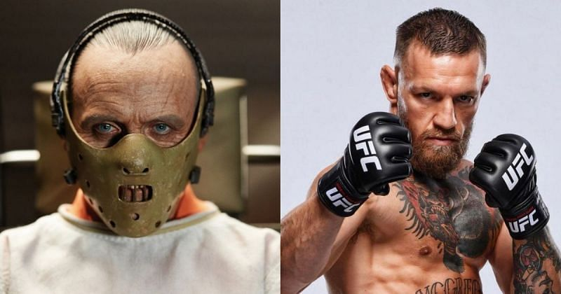 Hannibal Lecter (left), Conor Mcgregor (right) [Images Courtesy: @looper on YouTube, @thenotoriousmma via Instagram]