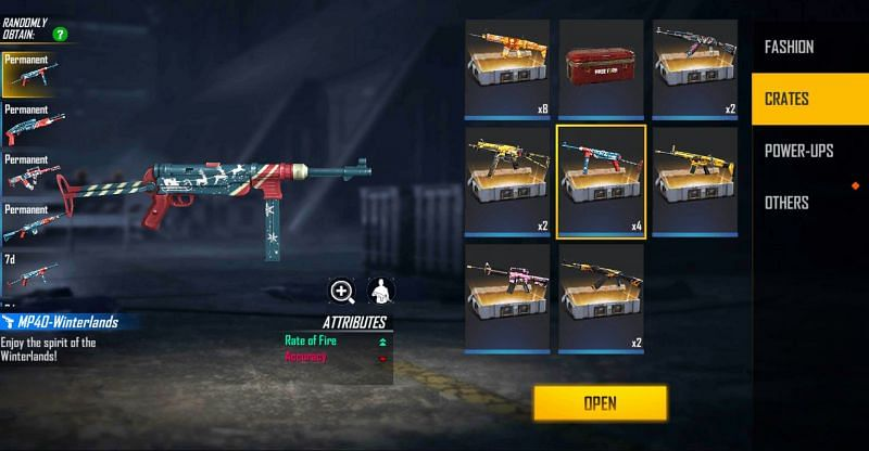 After collecting the reward, players can open it from the vault (Image via Free Fire)
