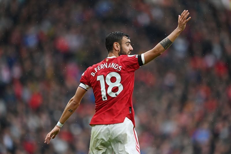 Bruno Fernandes was a creative force for Manchester United in the 2020-21 season.
