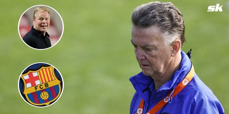 Netherlands manager Louis van Gaal didn't hold back with his comments on former club Barcelona