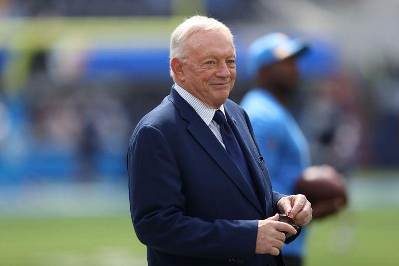 Dallas Cowboys football team owner Jerry Jones