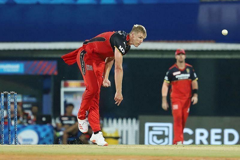 काइल जैमीसन ने आईपीएल 2021 में आरसीबी के लिए नौ मैच खेले हैं [P/C: iplt20.com]