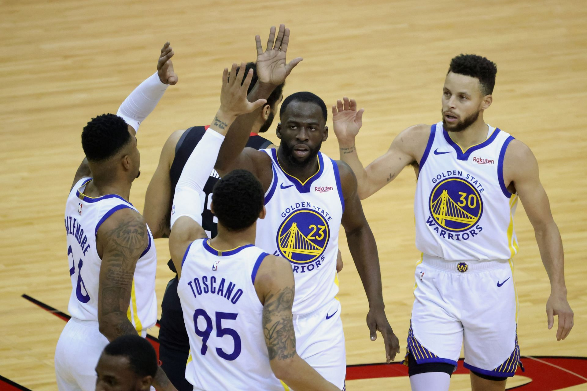 The Golden State Warriors are looking to finish the preseason undefeated.