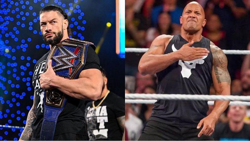 WWE में यूनिवर्सल चैंपियन रोमन रेंस vs द रॉक का मैच जरूर होना चाहिए