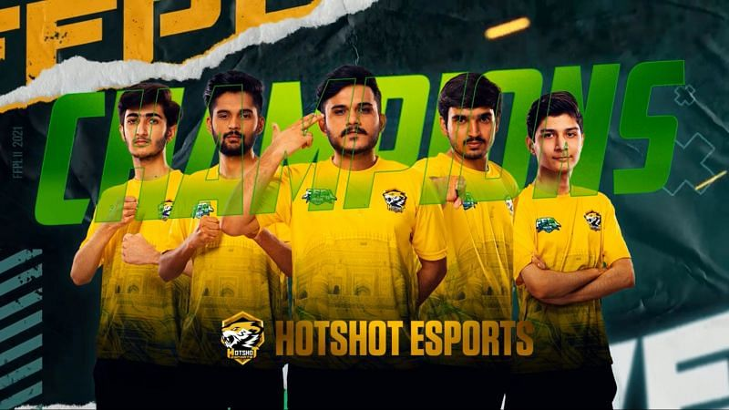 Hotshot Esports claimed the title-winning prize of 35 lakh PKR (Image via Free Fire PK)