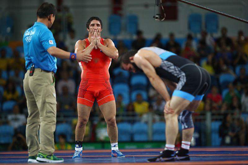 Abdulrashid Sadulaev won gold at the Tokyo Olympics.