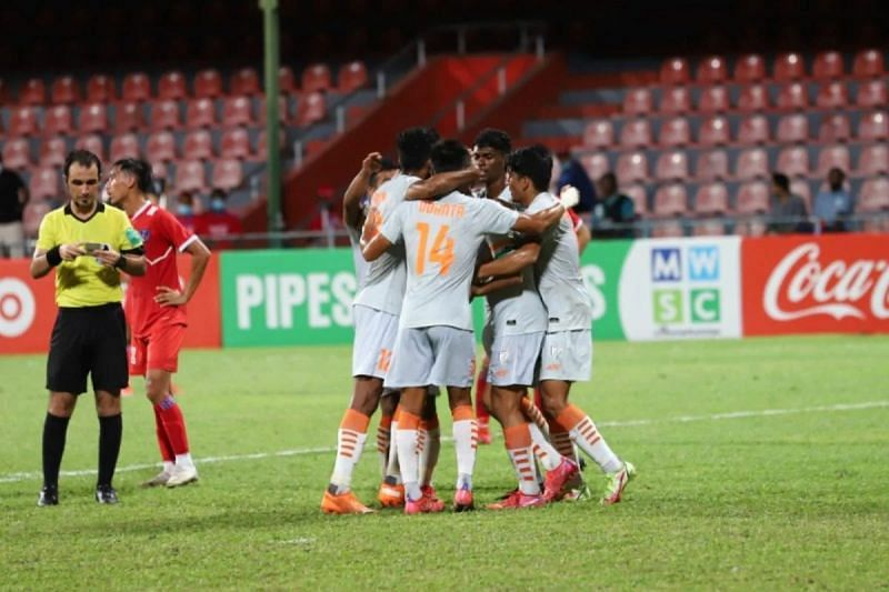 India come into the game with a 1-0 win over Nepal in the SAFF Championship. (Image: AIFF)