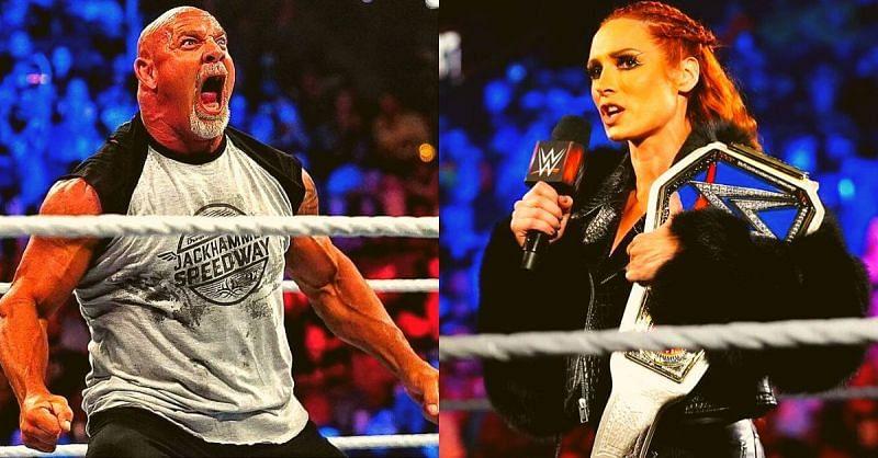 Becky Lynch and Goldberg made big statements on RAW