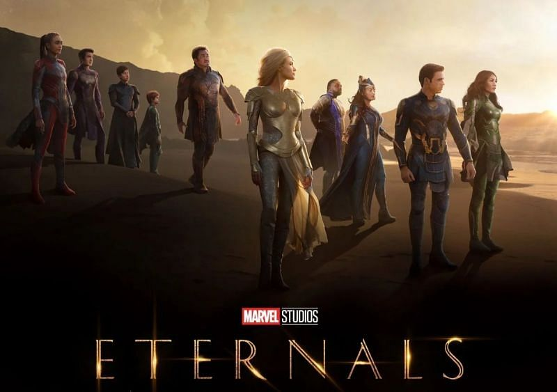 Marvel's Eternals is a much-anticipated affair (Image via Marvel Studios)