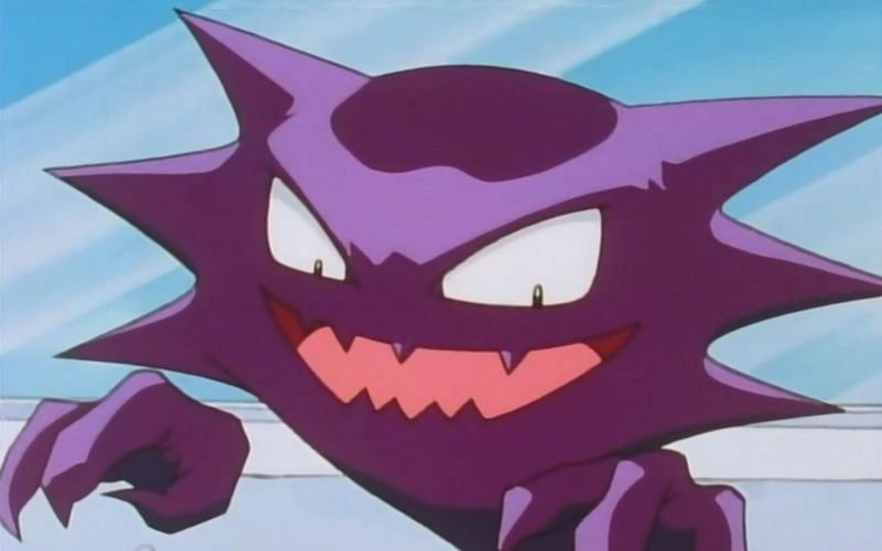 Morty had two Haunters in his Gym in the Johto region (Image via The Poklemon Company)