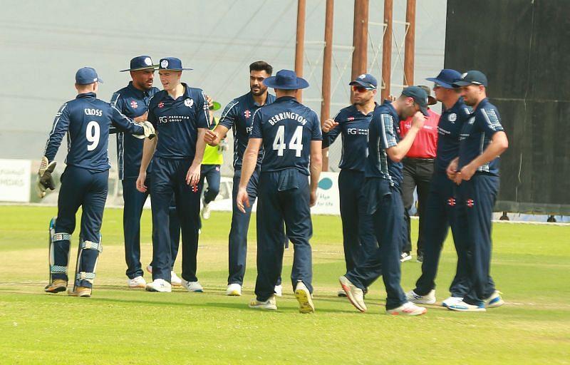 Photo Credit - Cricket Scotland Twitter