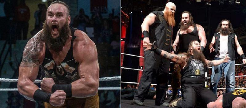 WWE's Wyatt Family officially split back in 2017