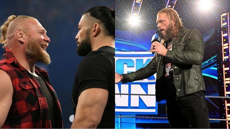WWE SmackDown के इस हफ्ते के एपिसोड के दौरान कुछ रोचक चीजें देखने को मिलीं