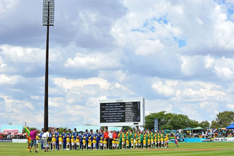 The Diamond Oval in Kimberley is the venue for the game