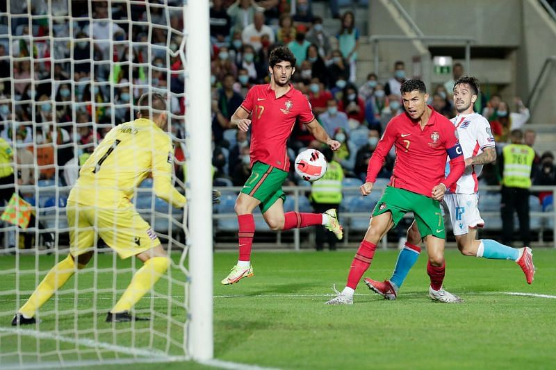 Portugal had 11 shots on target, but scored only five times.