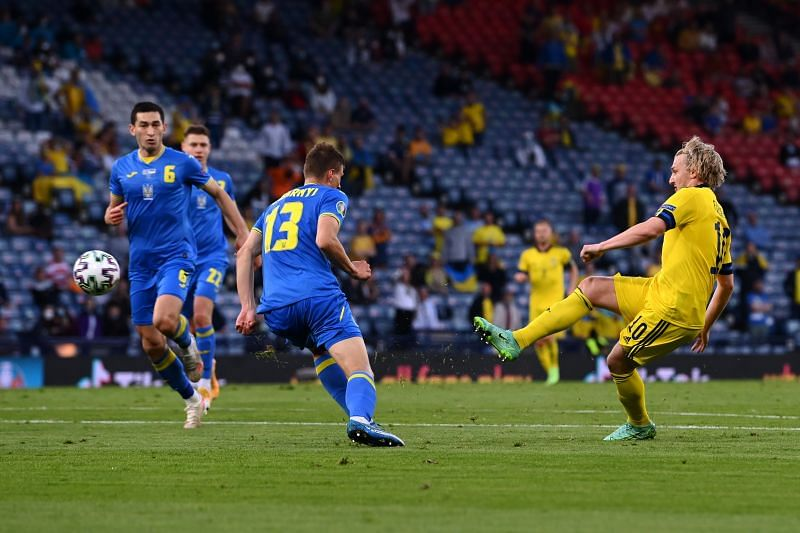 Sweden take on Greece in a World Cup qualifier on Tuesday