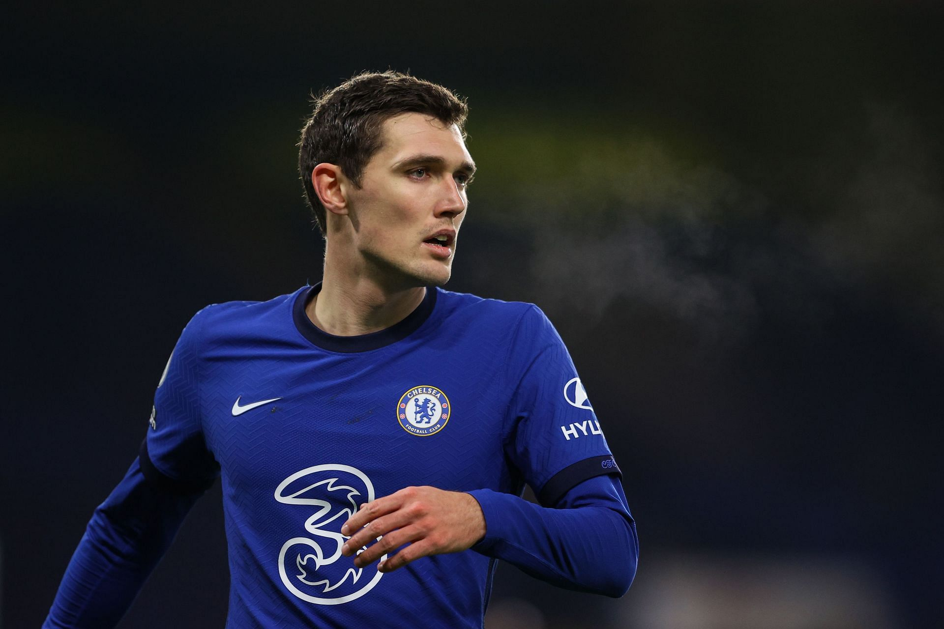 The defender has been a vital figure for Chelsea this season