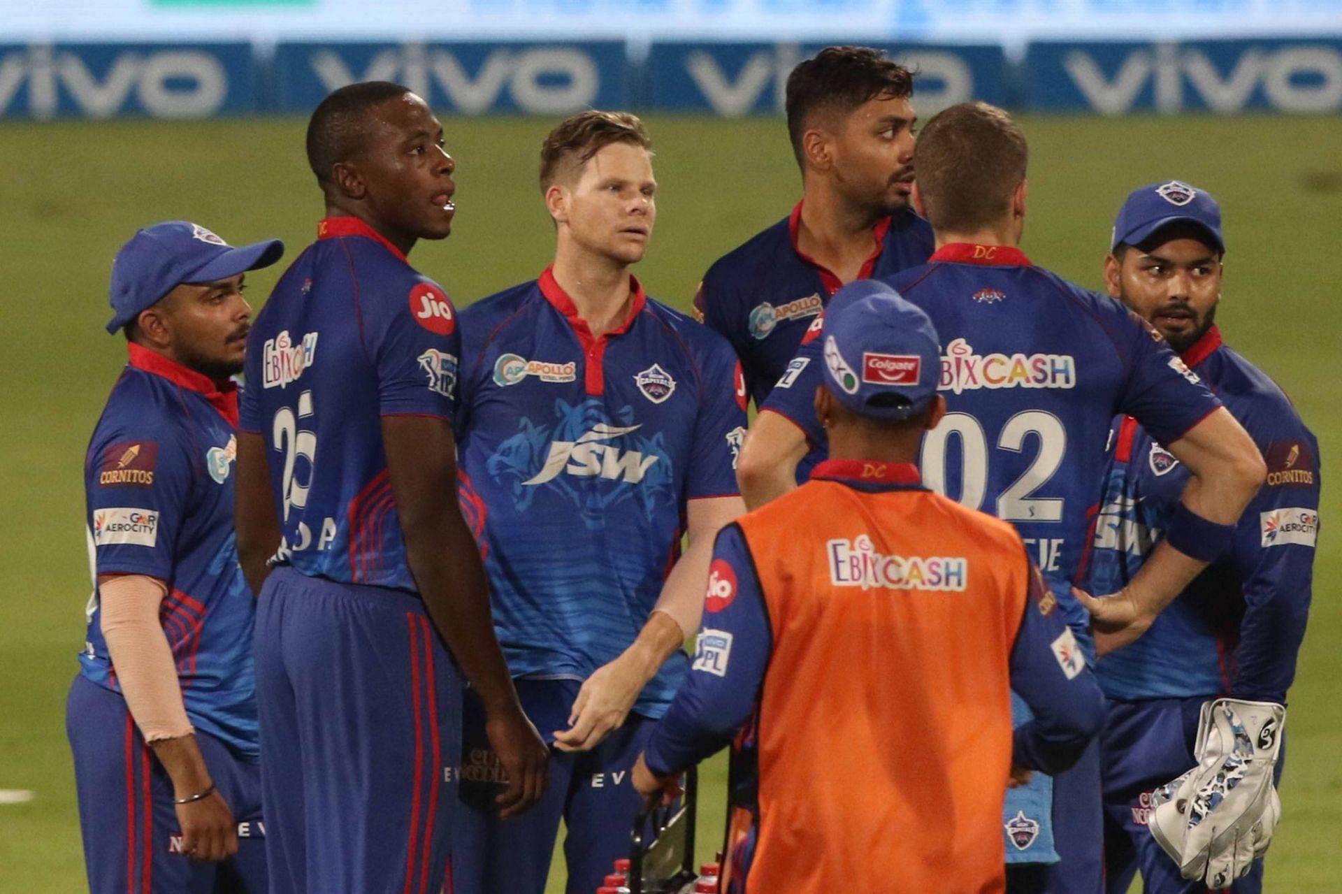 Delhi Capitals were dumped out of the IPL by KKR (Pic Credits: IPLT20.com)