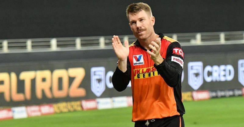 David Warner wasn't at his best in IPL 2021 (Pic Credits: Cricket Times)