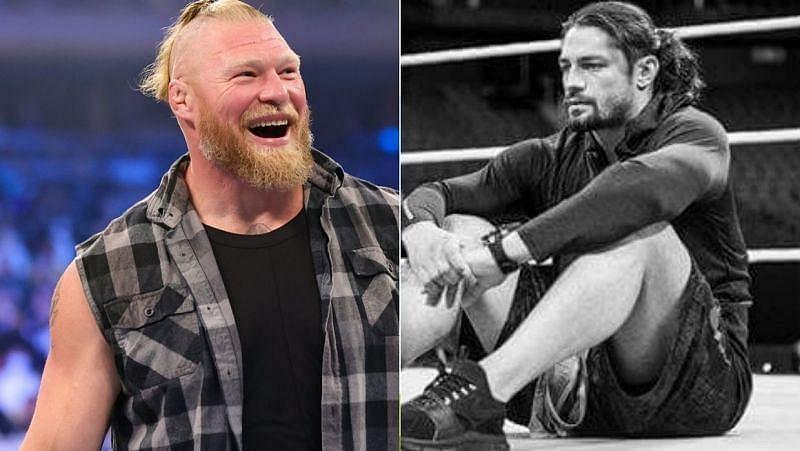 WWE Crown Jewel में होगा रोमन रेंस और ब्रॉक लैसनर का मुकाबला