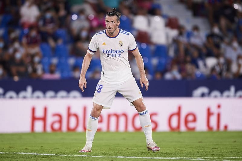 Gareth Bale has made three appearances for Real Madrid across all competitions this season