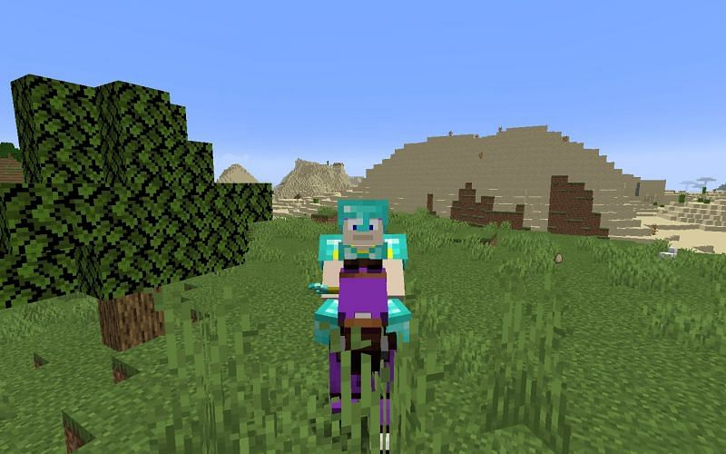 Minecraft can be full of endless possibilities (Image via Minecraft)