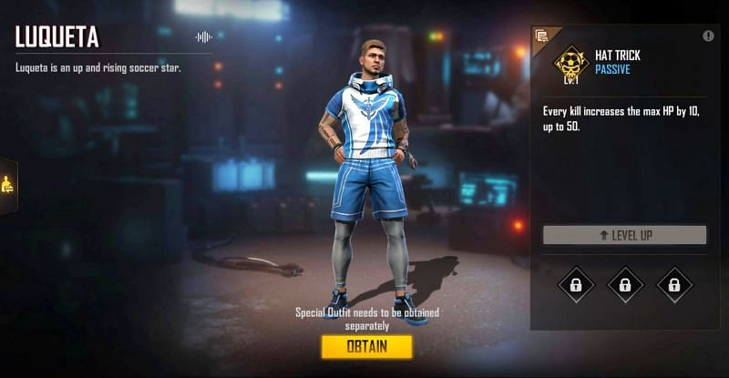 The maximum HP will increase to 250 with two kills (Image via Free Fire)