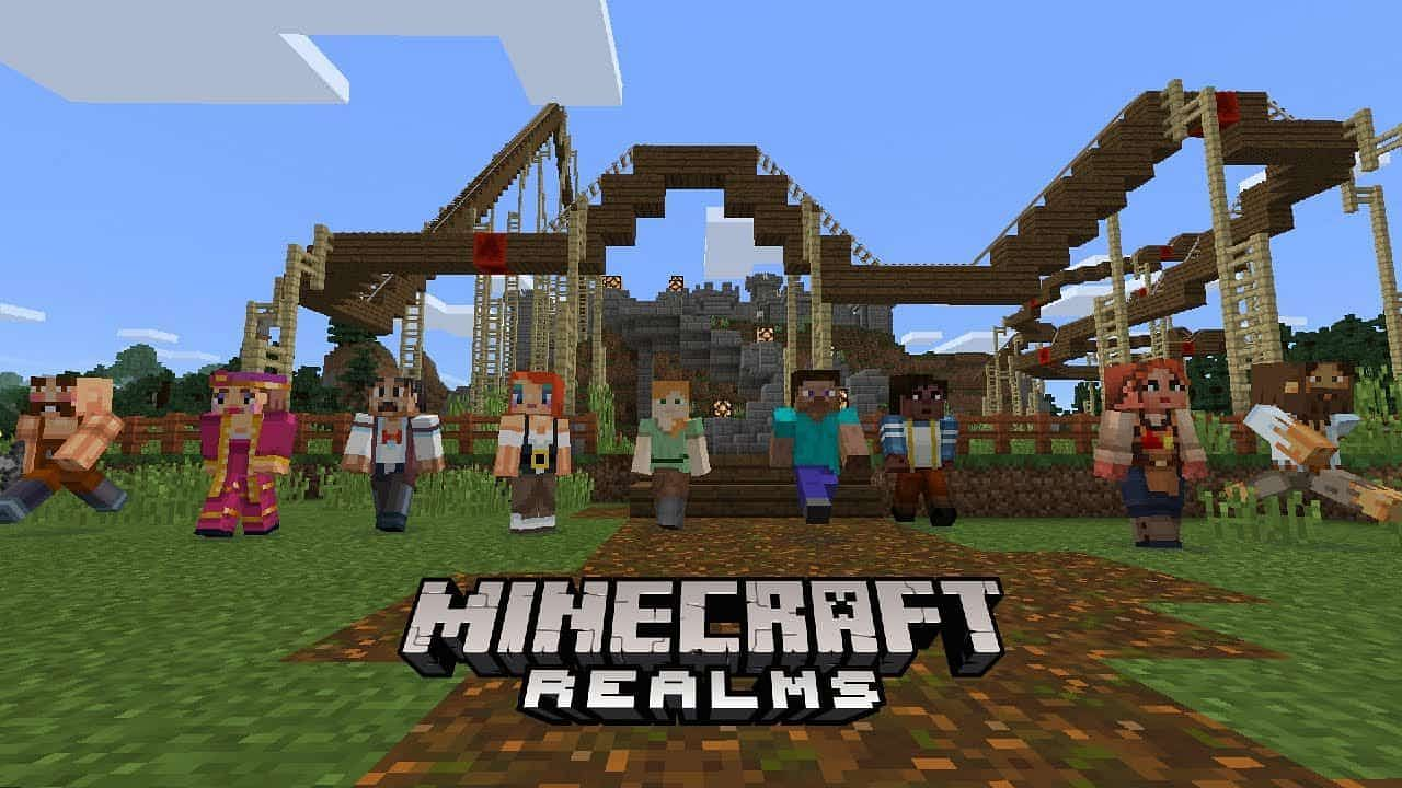 Minecraft Realms has its own method of making players operators that doesn't require a command (Image via Mojang).