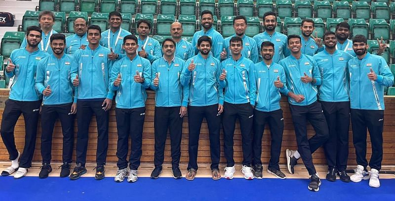 India beat Netherlands 5-0 in the Group C opening match of the Thomas Cup on Sunday