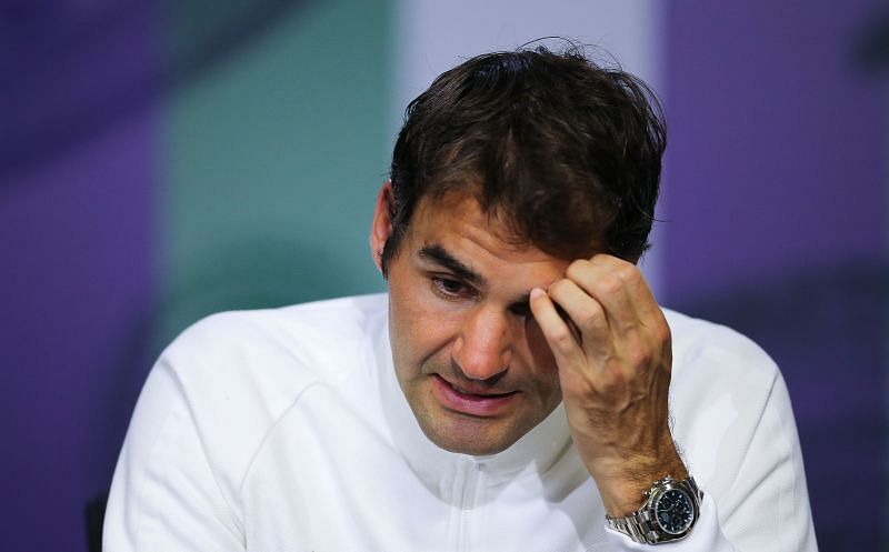 Roger Federer after losing to Milos Raonic at Wimbledon 2016