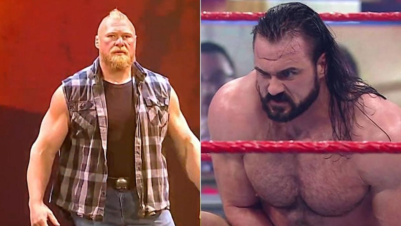 Brock Lesnar has never beaten Drew McIntyre in WWE