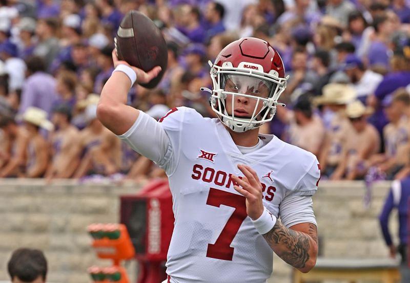 Oklahoma Quarterback Spencer Rattler