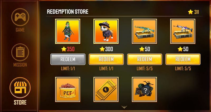 Here are all the claimable rewards in the event (Image via Free Fire)
