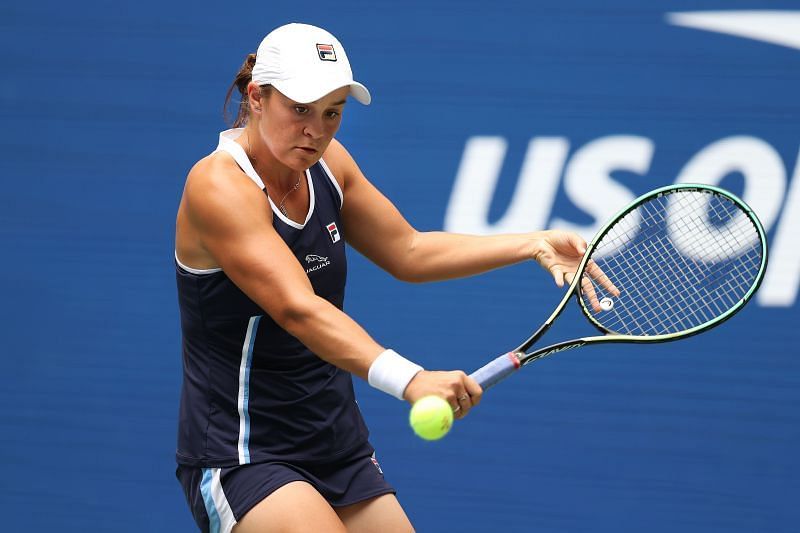 Ashleigh Barty at the 2021 US Open
