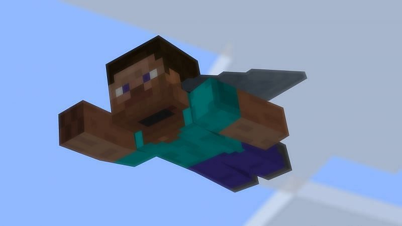 The beta fixes an issue with elytra hitboxes (Image via Minecraft)