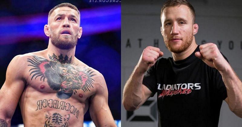 Conor McGregor (left), Justin Gaethje (left) [Images Courtesy: @thenotoriousmma @ justin_gaethje on Instagram]