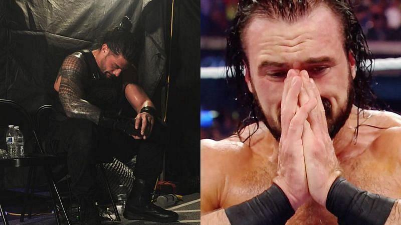 WWE में रेसलर्स मैच के बाद रो भी चुके हैं