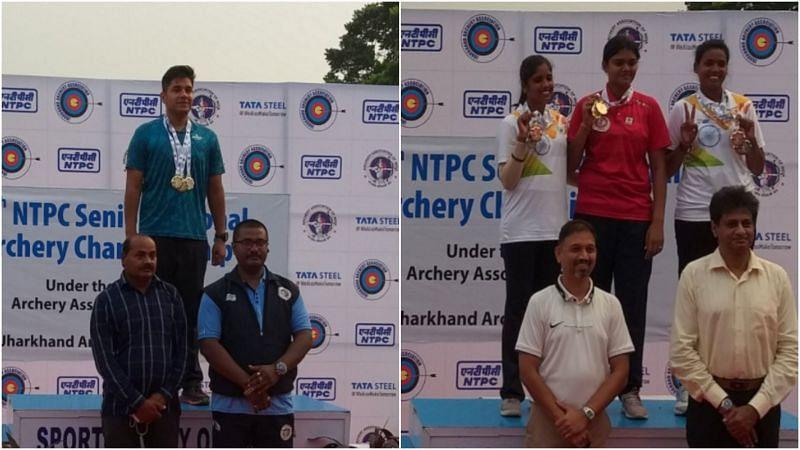 : Indian archers Abhishek Verma and Jyothi Surekha Vennam clinches gold